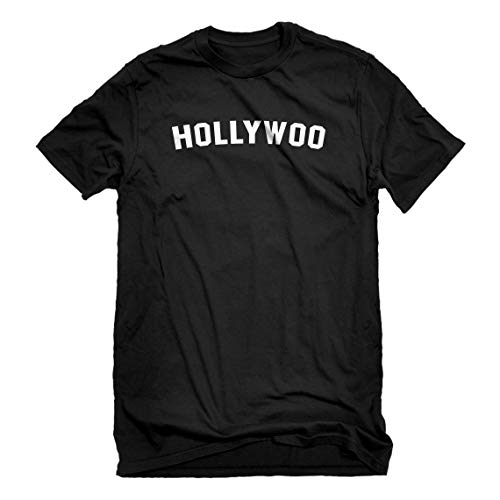 Indica Plateau Mens Hollywoo Medium Black T-Shirt