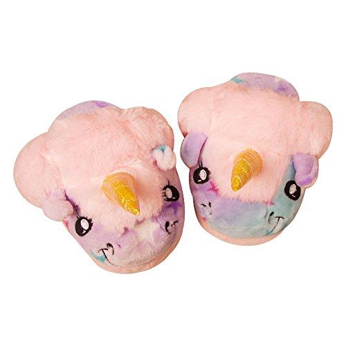 adulti 42 U Pantofole pois style1 39 con pink in unicorno in motivo dalla leggere foam donna adatte per con taglie alla memory 39 da europee JYSport peluche con SdTgSw