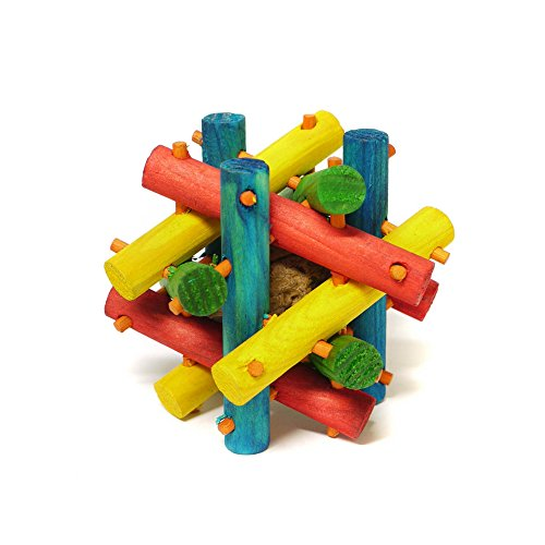 Interpet-Limited-Superpet-Nut-Knot-Knibbler-Wooden-Toy