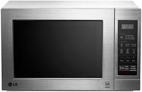 LG MH6044 VAT - Horno microondas con grill, color: plateado ...