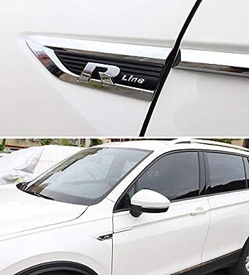Kampre 4 Piezas de Auto Pegatinas de protecci/ón Auto Pegatinas f/ácil instalaci/ón Accesorios para Auto para Tiguan MK2 Auto Pegatinas de Puerta