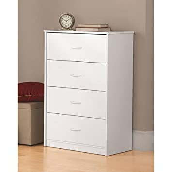 Mainstays  Drawer Dresser Color White Modelcom