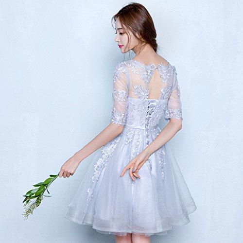 膝丈ドレス パーティードレス 2colors ドレス 結婚式 ドレス 大きいサイズ ワンピース 締上げブライズメイド 二次会 謝恩会 発表会 dress 演奏会