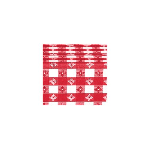 Marko 51511554L001 Classic Series Red Check 15 YD Tablecloth