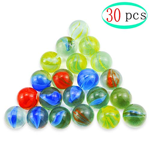 (Bangbuy 30 Pcs Glass Marbles Toy, 1