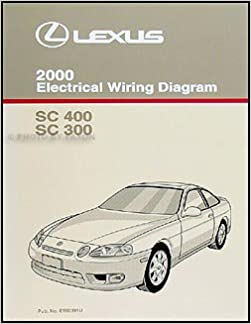 Awesome 2000 Lexus Sc 300 And Sc 400 Wiring Diagram Manual Sc300 Sc400 Wiring Digital Resources Helishebarightsorg