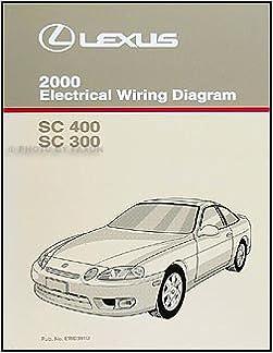2000 Lexus SC 300 and SC 400 Wiring Diagram Manual SC300 SC400: Amazon.com:  BooksAmazon.com