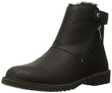 Amazon.com | UGG Women's Kayel Leather Winter Boot, Black