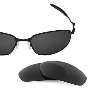 Revant Polarized Replacement Lenses for Oakley Whisker Stealth Black