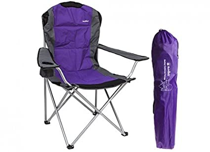 Padded Relaxer Chair High Back Purple Carry Bag Included   Summit