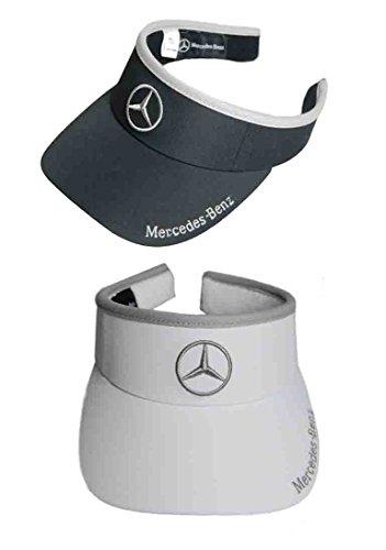 - Mercedes Lifestyle Collection Women's Tennis Visor (White)