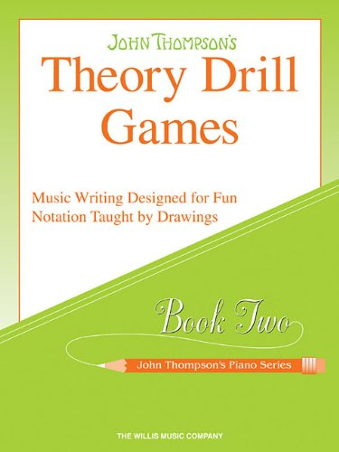 Theory Drill Games - Book 2: Elementary Level (John Thompson's Piano)