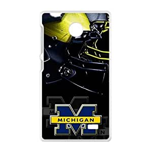 Hope-Store Michigan special pattern Cell Phone Case for Nokia Lumia X