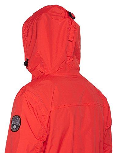 Uomo bright Red Napapijri Giacca R89 Rosso 6WHwWgn5q