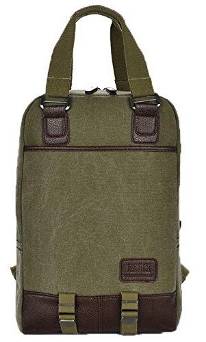 Escalade dos tout fourre Vert Femme Daypack VogueZone009 Toile Zippers à Sacs Sacs fw64xF
