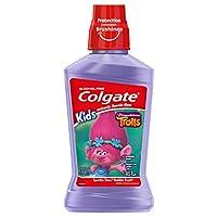 Colgate Kids Mouthwash, Trolls - 500 mL