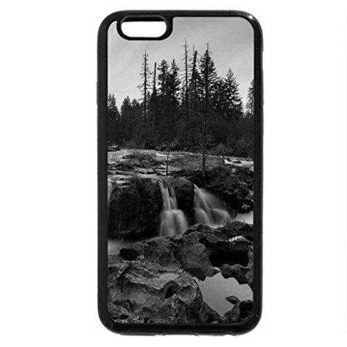 iPhone 6S Case, iPhone 6 Case (Black & White) - Crimson Gorge Rogue River, Oregon
