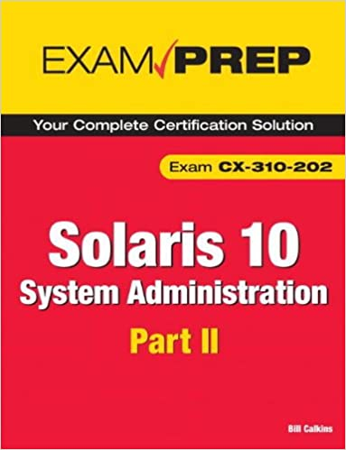 Oracle Solaris 11 System Administration Bill Calkins Pdf