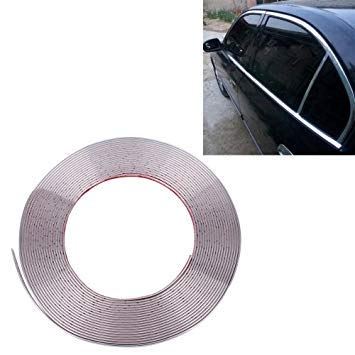Uniqus 13m x 22mm Car Motorcycle Reflective Body Rim Stripe Sticker DIY Tape Self-Adhesive Decoration Tape