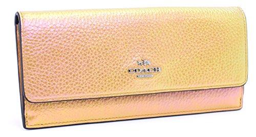 Coach Hologram Leather Soft Wallet