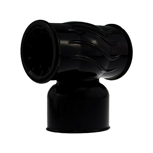 marielove Magic Wand Zubehör, viele verschiedene Vibrator Aufsätze für Magic Wand Massagegeräte (Black Hammer - ∅40mm)