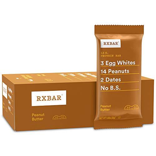 RX Bar Protein Bar, Peanut Butter, 1.83 oz (12 Count)