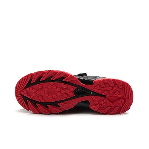 Weideng Männer Professional Radfahren vielseitige Mountain Road Bike Schuhe mit schnellen Knob Laces rot