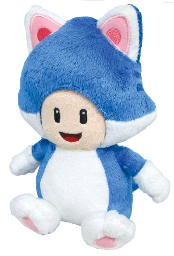 Sanei Super Mario 3D World Neko Cat Toad 7.5