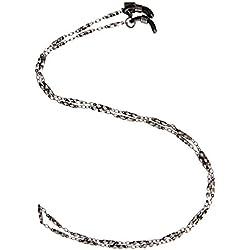 Corinne McCormack Women's Link Gunmetal Chain,Diamond,One Size