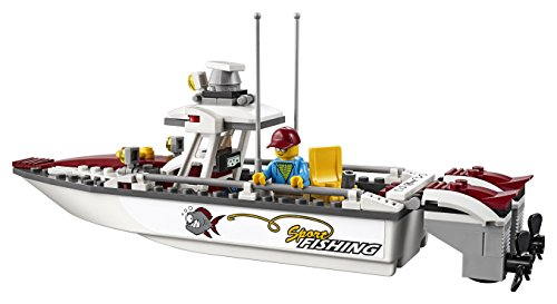 Lego city fishing boat 60147 creative play toy import it all for Fishing lego set