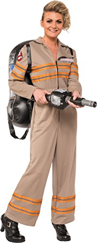[Rubie's Women's Ghostbusters Movie Deluxe Costume, Multi, Medium] (Ghostbusters Womens Costume)