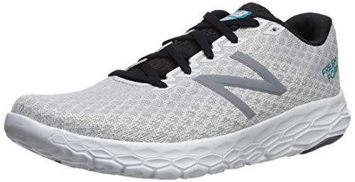 New Balance Men's Beacon V1 Fresh Foam Running Shoe, Arctic Fox/deep Ozone Blue/Black, 11 D US