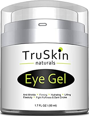 Best Eye Gel for Wrinkles, Dark Circles, Puffiness and Bags, Eye Cream for Under and Around Eyes - 1.7 fl oz from TruSkin Naturals