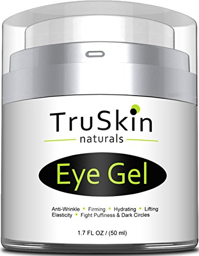 Best Eye Gel for Wrinkles, Dark Circles, Under Eye Puffy Bags, Crepe Eyes, Super Eye Cream Moisturizer Serum for Men & Women - 1.7 fl oz
