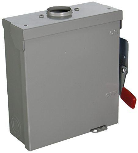 SIEMENS GNF321R 30 Amp, 3 Pole, 240-Volt, NO-FUSE Outdoor Rated General Duty by Siemens