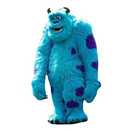 Adult costume inc monster sulley