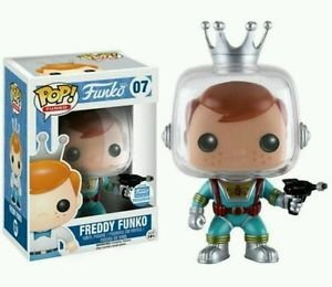 Funko Shop Pop! Exclusive Freddy Funko With Ray - Shop Rays