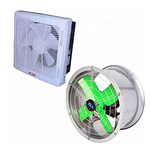 - SEADOSHOPPING Round Restaurant Kitchen Window Exhaust Fan