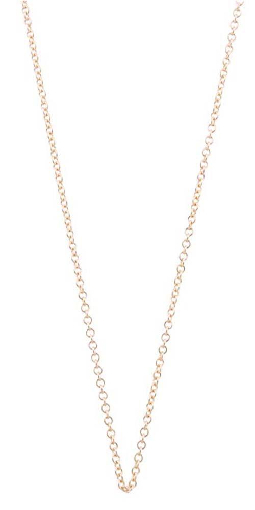Helen Ficalora Fine Chain Yellow Gold 18 in