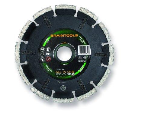 Rhodius 303671 Mauerschlitz-Diamantscheiben-System LD402-All in One 150 x 7 x 18 x 22.23 mm