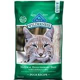 Blue Buffalo Wilderness Grain Free Dry Cat Food, Duck Recipe, 5-Pound Bag, My Pet Supplies