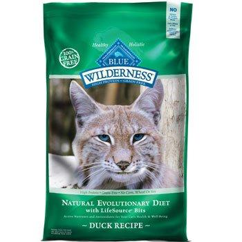 Blue Buffalo Wilderness Grain Free Dry Cat Food, Duck Recipe, 11-Pound Bag, My Pet Supplies