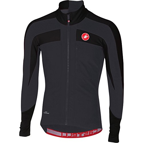 Castelli Trasparente 4 Long-Sleeve Jersey - Men s Light Black Black 42c3bed2d