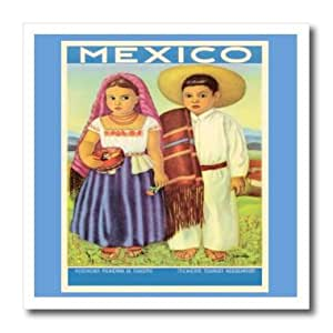 ht_162979_3 Florene All Things Mexican - Mexican Children Poster Image - Iron on Heat Transfers - 10x10 Iron on Heat Transfer for White Material
