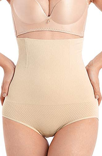 RRLOM Body Shaper for Women Tummy Control Shapewear Thong Firm for Dress with Butt Lift High Waist Small to Plus Size