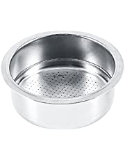 Stainless Steel Coffee Filter, 2 Cup Coffee Filter Basket Strainer Porous Filter Basket Suitable for Coffee Cuisinart Coffee Makers