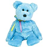 TY Beanie Baby - SHERBET the Bear (Blue Version)