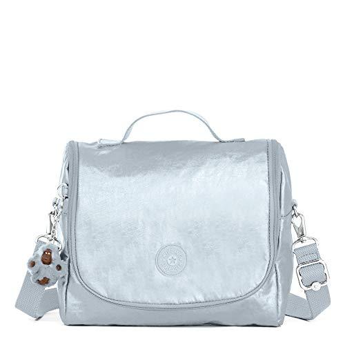 Kipling Kichirou Metallic Lunch Bag Arctic ()