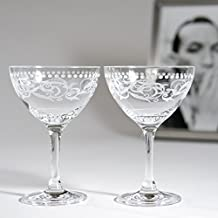 """Cole Porter """"Ritz Bar"""" Champagne Cocktail Glasses (Limited Edition)"""