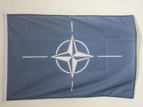 AZ FLAG BOOTFLAGGE VEREINTE Nationen UNO 45x30cm United Nations BOOTSFAHNE 30 x 45 cm Marine flaggen Top Qualit/ät
